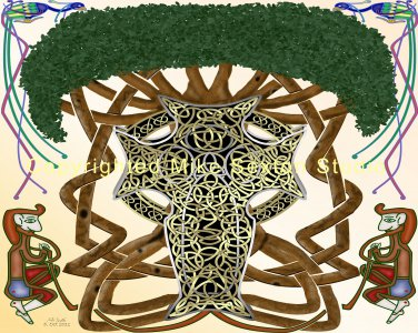 Life is Universal (Celtic Knot Print)