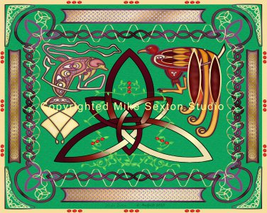 The Tie that Binds (Celtic Knot Print)