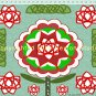 Celtic Rose Knot Print