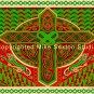 Lion Cross Celtic Knot Print