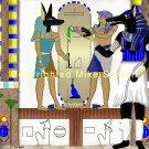 Anubis Looks On Print