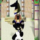 Anubis Temple Print