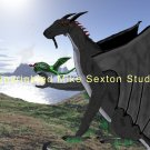 Dragon Orb Print