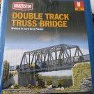 N scale double track truss bridge
