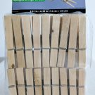 "36 Count Wood Clothespins, Laundry Essentials® Wooden Clothespins Size2.91""x.39"""