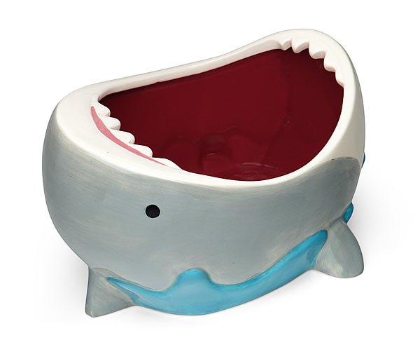 New, Shark Attack Bowl, Ceramic, 20 oz. Capacity