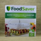New, FoodSaver, Quick Marinating Canister, Vacuum Sealing, 2.25 Quart(2.1 Liter)