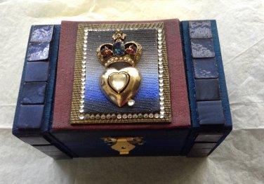 Decorated Box - Jewel Crown