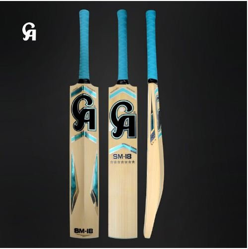 CA English Willow Cricket Bat SM-18 7 Star Weight From 2lb 7oz to 3lbs with free Grip+Protector