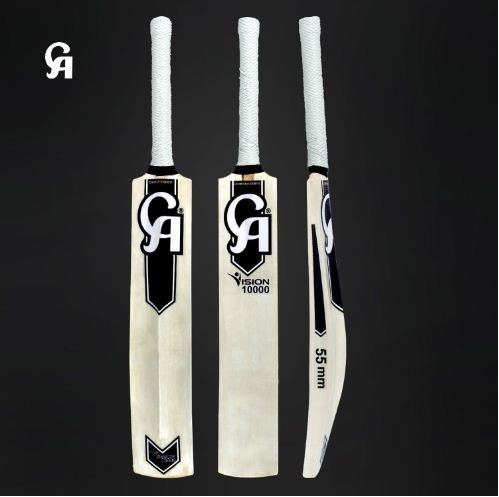 CA Vision 10000 Special Tape Ball Bat Made of Light Weight and Famous for hitting big hits.