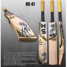 HS English Willow Cricket Bat HS 41 Weight From 2lb 7oz to 3lbs with free Grip+Protector.