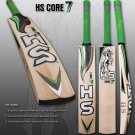 HS English Willow Cricket Bat HS Core 7 Weight From 2lb 7oz to 3lbs with free Grip+Protector.