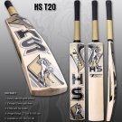 HS English Willow Cricket Bat T-20 Weight Range: 2.7Lbs To 3.00 Lbs with free Grip+Protector
