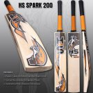 HS Spark 200 Cricket Bat Made Of English Willow With 7 to 8 Grains With Free Grip+Protector