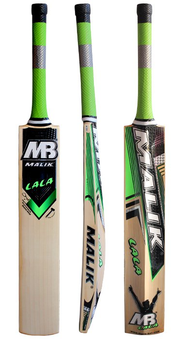 Mb Malik LaLa Cricket Bat Grade A English Willow Weight Range 2.8 lbs with free Grip+Protector