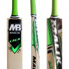 Mb Malik LaLa Cricket Bat Grade A English Willow Weight Range 2.8 lbs with free Grip+Protector