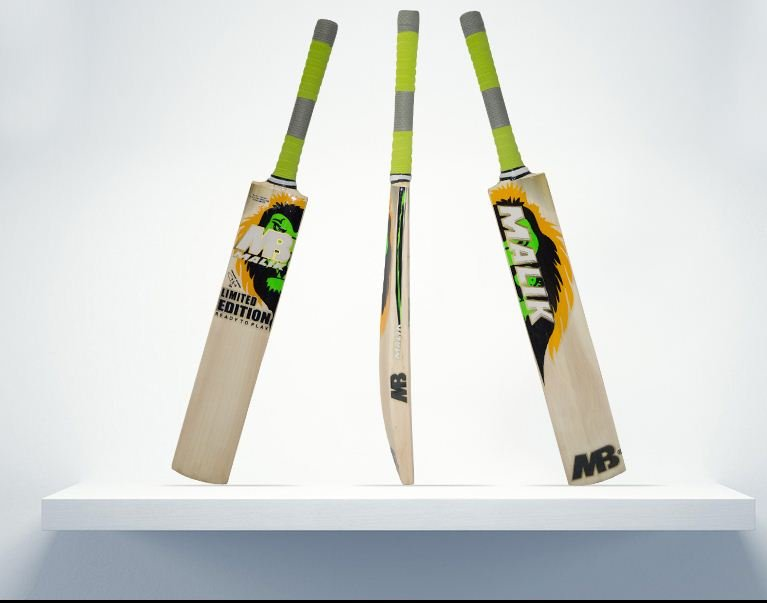 Mb Limited Edition Cricket Bat Grade A English Willow Weight Range 2.8 lbs With free Grip+Protector