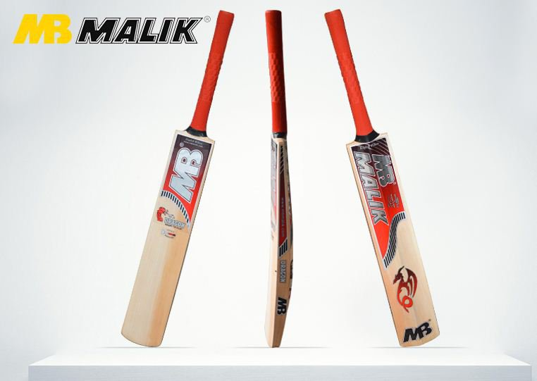 Mb Dragon Cricket Bat Grade A English Willow Weight Range 2.8 lbs With free Grip+Protector