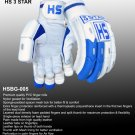HS 3 STAR Batting Gloves Made of Original Pittards Leather Available for LH & RH Batsman