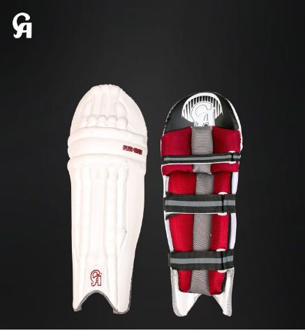 CA Plus 10000 white Batting Pad made of EVA foam especially crafted for International Players.