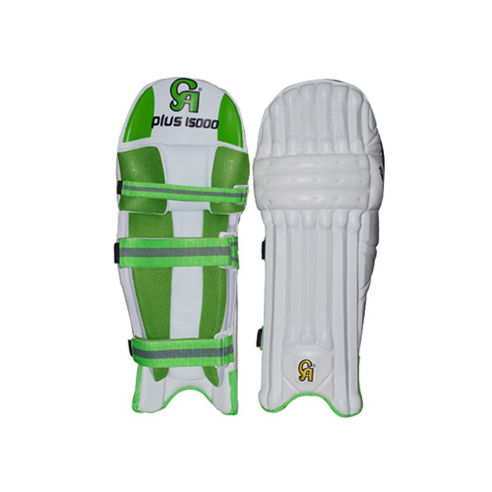 CA Plus 15000 Batting Pad Made of  DX  rexine especially crafted for International Players.