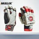 MB Sher Amin Batting Gloves Made of Original Pittards Leather for extra Grip Size Men, Large Men.