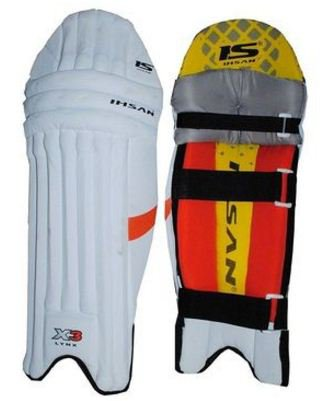 IHSAN LYXN X-3 Batting Pad Light weight Made of imported materials Available in different sizes