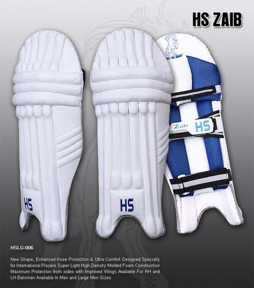 HS Zaib Batting Pad Light weight Made of imported materials Available in different sizes