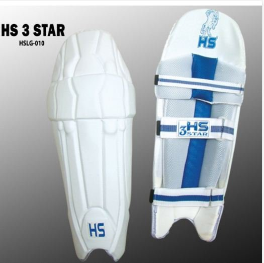 HS 3 STAR Batting Pad Light weight Made of imported materials Available in different sizes