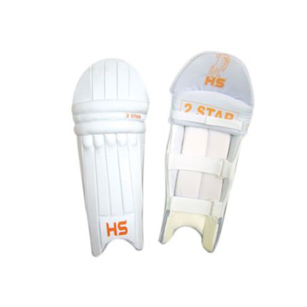 HS 2 STAR Batting Pad Light weight Made of imported materials Available in different sizes