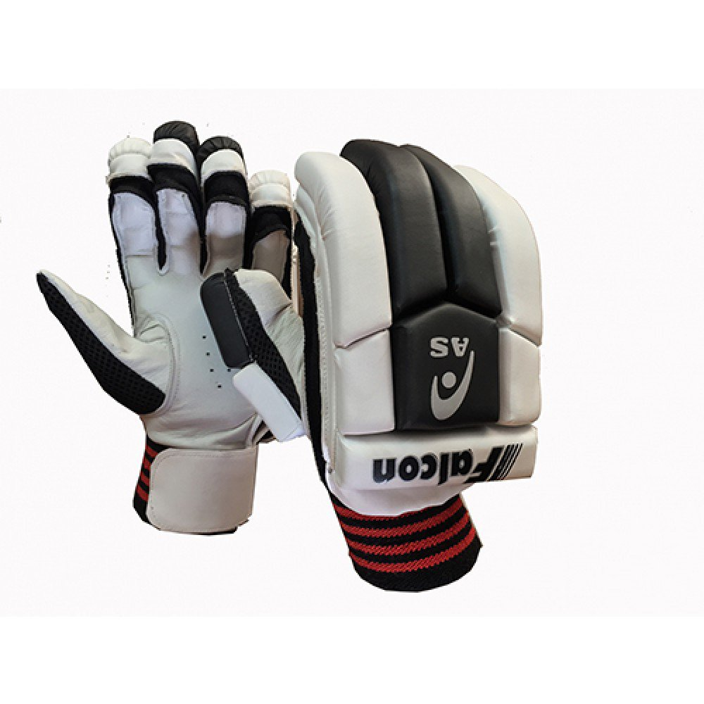 AS Falcon Batting Gloves Multi Section Design giving Extra Flexibility Available for LH & RH Batsman