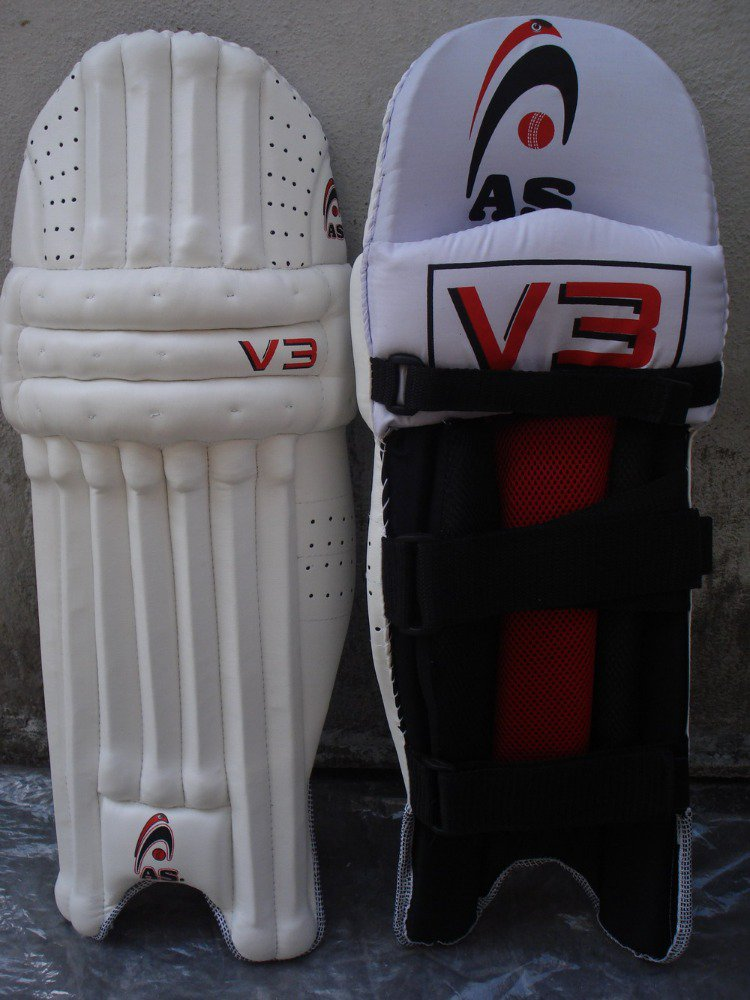AS Batting Pad V3 Made of Imported Materials Most Stylish Available for RH and LH Batsmen
