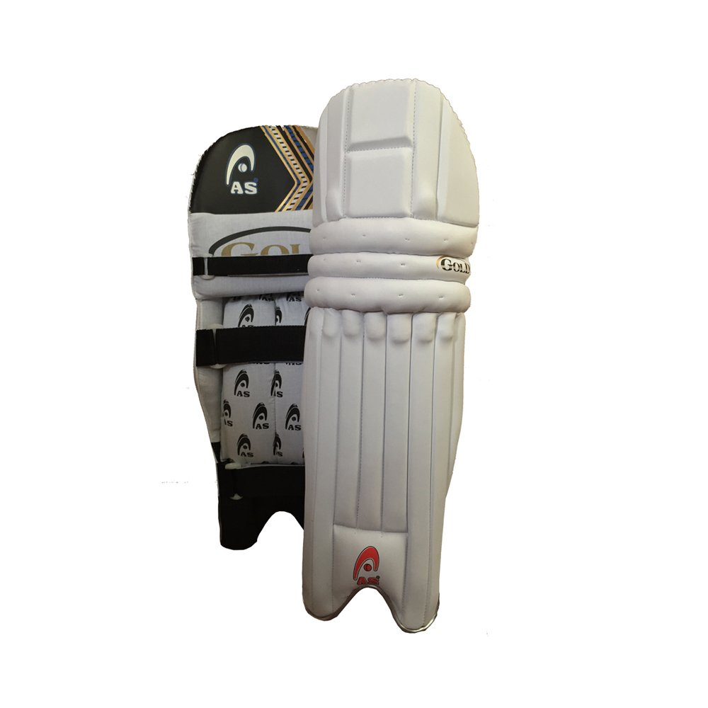 AS Batting Pad GOLD Made of Imported Materials Most Stylish Available for RH and LH Batsmen
