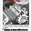 The Honda GL1000 Carburetor