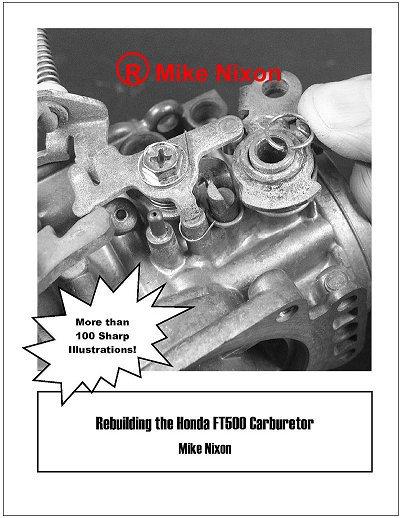 Rebuilding the Honda FT500 Carb