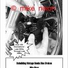 Rebuilding Vintage Honda Disc Brakes