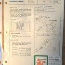 Honda CBX1000 turnsignal relocation kit sheet