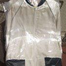 Satin-like nightclub jacket, size large