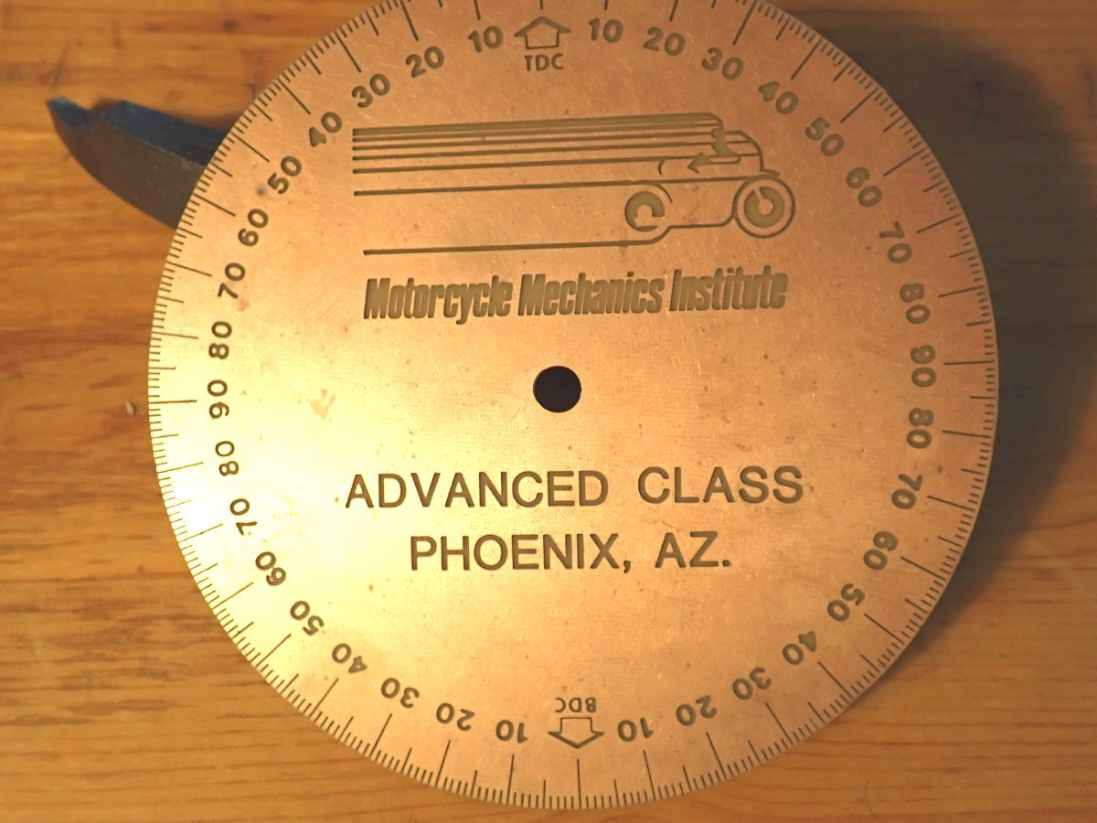 MMI engine tuning degree wheel