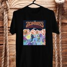 The Zombies Odessey&Oracle Black Tee's Front Side by Complexart