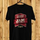 Country Jam Wisconsin festival Black Tee's  Front Side by Complexart