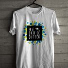 D' Ete Quebec Festival White Tee's  Front Side by Complexart c2