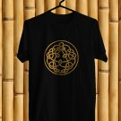 King Crimson Logo Black Tee's  Front Side by Complexart