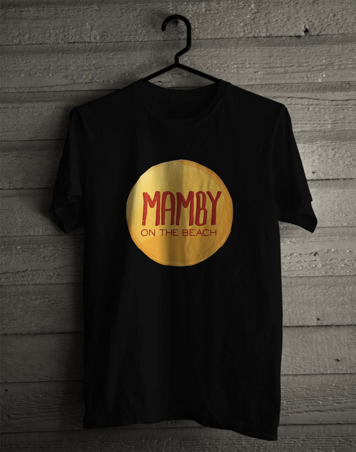 Mamby On The Beach Fest 2017 Black Tee's Front Side by Complexart