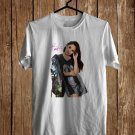 Becky G Tour 2017 White Tee's Front Side by Complexart z2