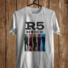 R5 : New Addictions Tour 2017 White Tee's Front Side by Complexart