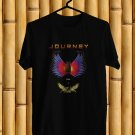 Journey and Asia Tour 2017 BLack Tee's Front Side by Complexart z1