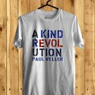 Paul Weller A Kind Revolution Tour 2017 White Tee's Front Side by Complexart