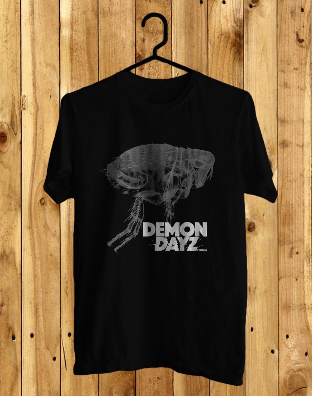 Demon Dayz Fest 2017 Black Tee's Front Side by Complexart z3