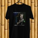 Harry Styles Live On Tour 2017 Black Tee's Front Side by Complexart z3